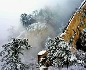 瑞雪降華山